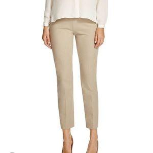 Elie Tahari khaki Juliette ankle trousers pants 6
